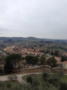 サン・ジミニャーノの城塞からの風景