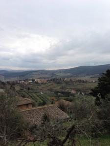 サン・ジミニャーノの城塞からの風景(2)