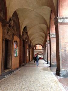 ボローニャの街