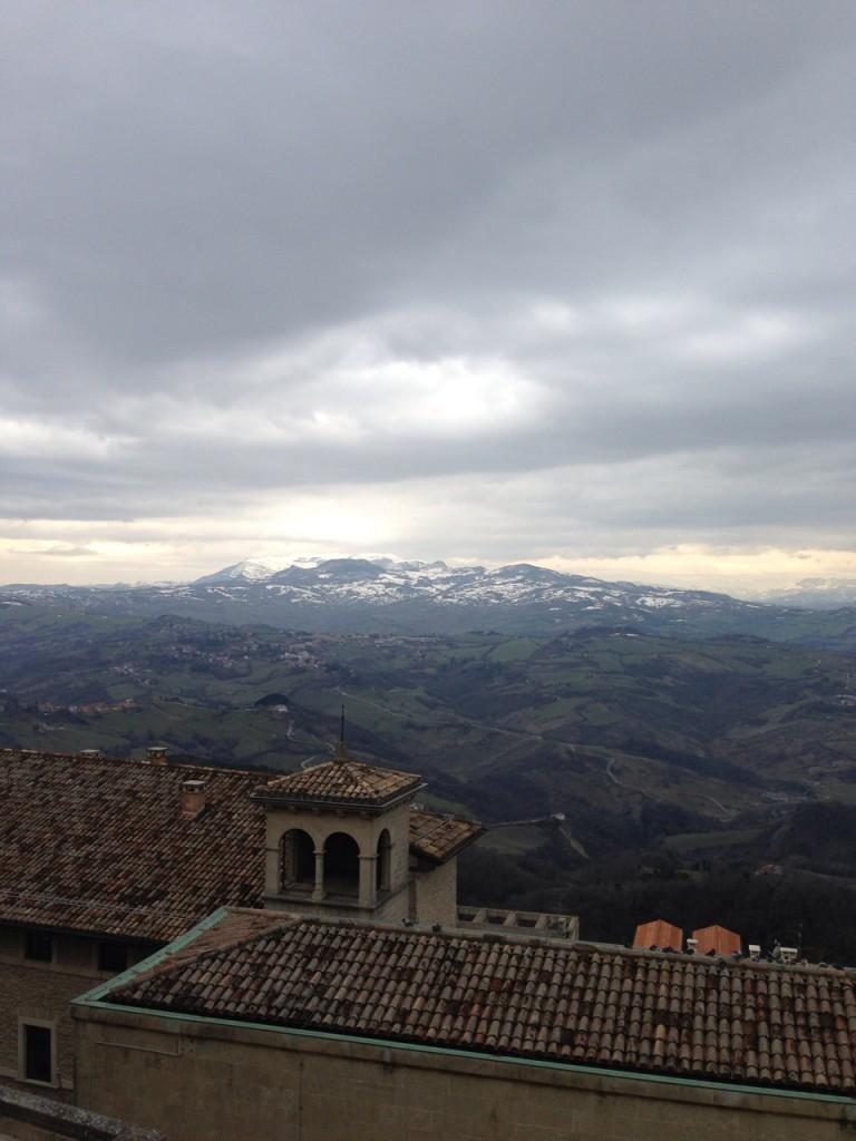 サンマリノからの風景