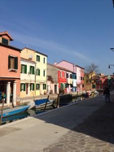 ブラーノ島の街並み(2)