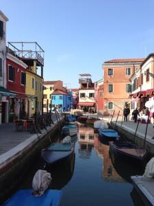 ブラーノ島の街並み(1)