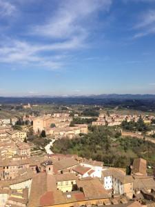 シエナ マンジャの塔からの風景(4)