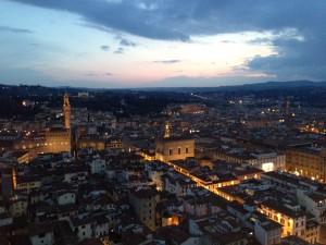 フィレンツェの夜景(1)