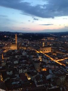 フィレンツェの夜景(2)