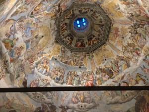 クーポラの天井画