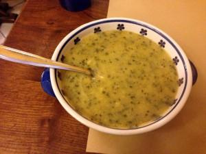 小麦のスープ(ランチ)